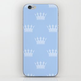 Louis Blue Crowns- Prince of Cambridge iPhone Skin