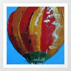 Colorful Skies - Panel 3 Art Print