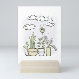 Never Enough Plants Mini Art Print