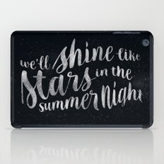 Shine Like Stars - Summer iPad Case