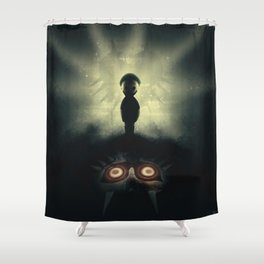 Ben Drowned/You Shouldn't Have Done That Shower Curtain