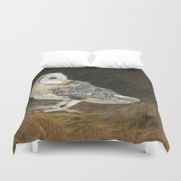 The Night Hunter by Teresa Thompson Duvet Cover