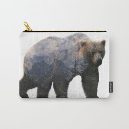 Mountain Bear Carry-All Pouch