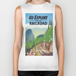 Go Explore! Take the Railroad Biker Tank