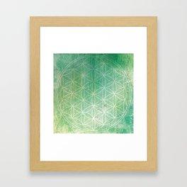 Life of Circles Framed Art Print