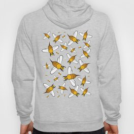 Bees on Yellow Hoody