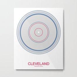 Cleveland rings Metal Print