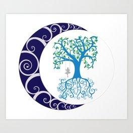 Chaos Tree Art Print