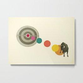 Bull's Eye : Taurus Metal Print