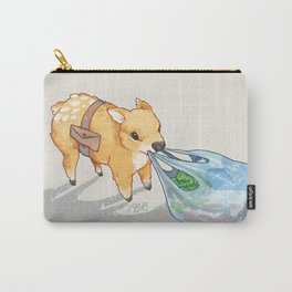 small independent deer — no text Carry-All Pouch