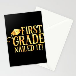 First Grade Nailed it Stationery Cards