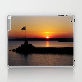 A beautiful sunset view of Lough Neagh Laptop & iPad Skin