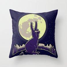 The Rabbit Throw Pillow