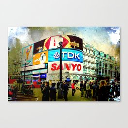 London VII - Piccadilly Circus Canvas Print