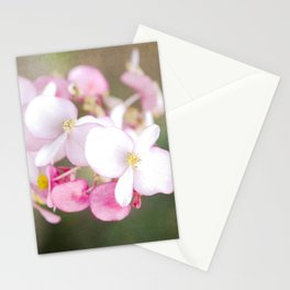Tropical flowers Stationery Cards