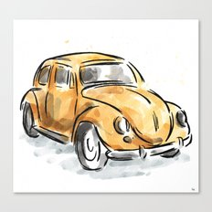 The Classic Beetle Canvas Print