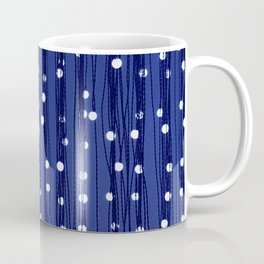 Dance of the Fireflies in Midnight Blue Sky Coffee Mug