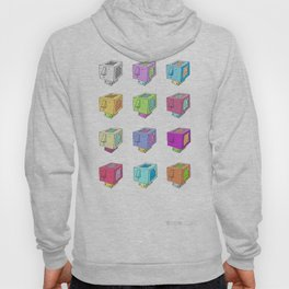 Cubeheds ( available for t-shirts ) Hoody
