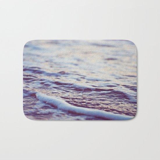 Morning Ocean Waves Bath Mat