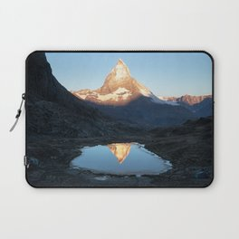 Matterhorn Sunrise Laptop Sleeve