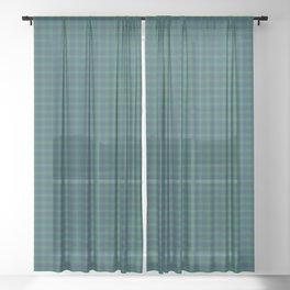 Burt Tartan Plaid Sheer Curtain