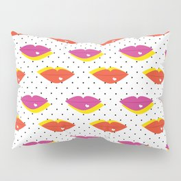 Lots of Kisses Pillow Sham