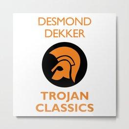 Classic Trojan Metal Print