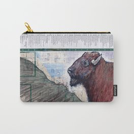 BUFFALO, NEW YORK Carry-All Pouch