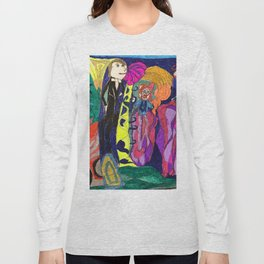 Getting Ready to go to a Fancy Dress Party Long Sleeve T-shirt