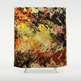 Burnt Out Shower Curtain