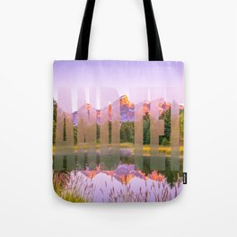 Grand Teton National Park Wyoming Print Tote Bag