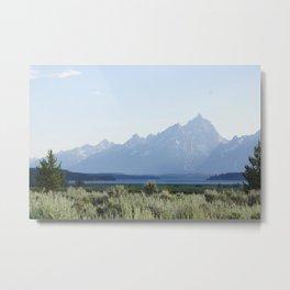 Grand Teton Dreams Metal Print