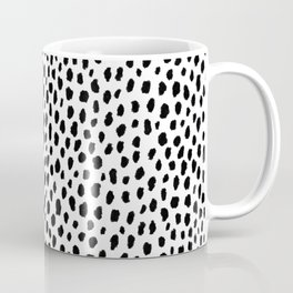 Dalmatian Spots (black/white) Coffee Mug