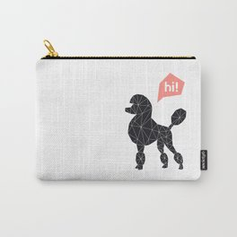 Hi! poodle Carry-All Pouch