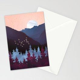 Mulberry Dusk Stationery Cards