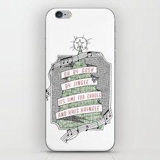 carols & kris kringle iPhone & iPod Skin