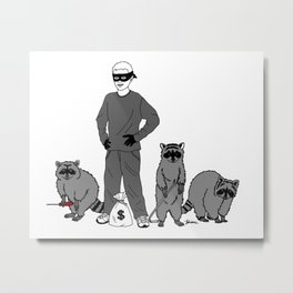 Danger Kids: Bandits Metal Print