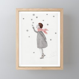 Picture Four:  The Snowflake Framed Mini Art Print