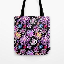 Painted Floral II Tote Bag