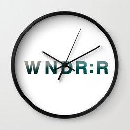 wndr:r Wall Clock