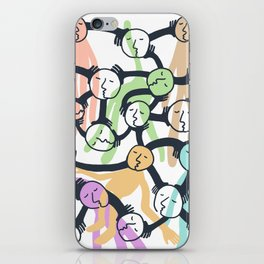 Connected Dreamers iPhone Skin
