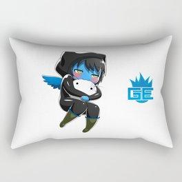 Fuzzy Chibi Luc (Expression 2) (no cloud) Rectangular Pillow