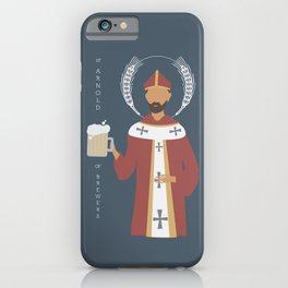St. Arnold of Brewers iPhone Case