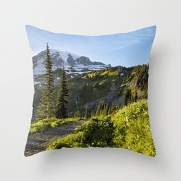 A Hike to Remember Throw Pillow