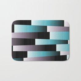 Mauve & Turquoise Bath Mat