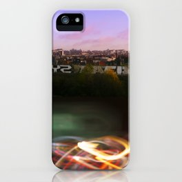 Brussels's City Lights iPhone Case
