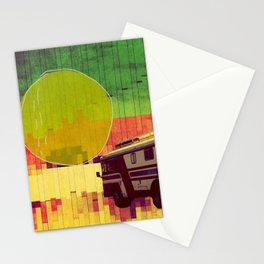 going west (ANALOG ZINE) Stationery Cards