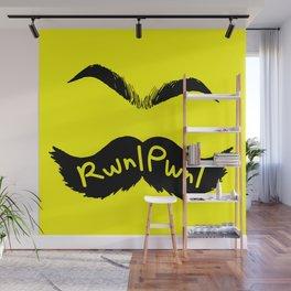 RwnlPwnl Mustache Wall Mural