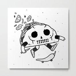 Al Pastor chili-flip Metal Print