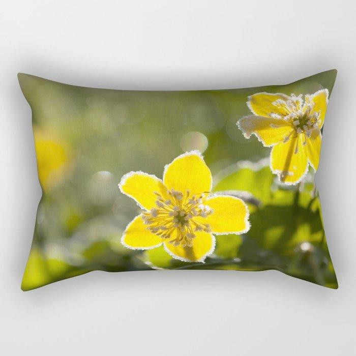Frozen buttercup in love Rectangular Pillow